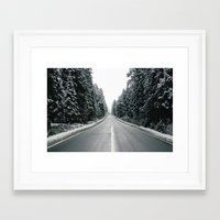 onward Framed Art Prints featuring Onward by danotis