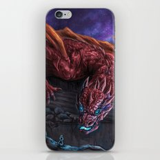 Red Wyvern iPhone & iPod Skin