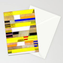 Paul Klee Monument in Fertile Country Stationery Cards