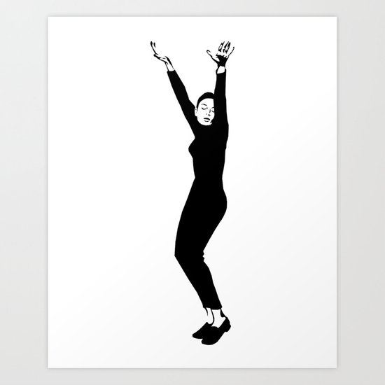 I rather feel like expressing myself! Art Print