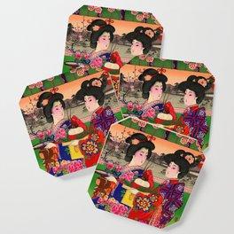 Two Geishas Coaster