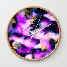 Icy Rose Wall Clock