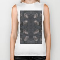 large Biker Tanks featuring Visible Large by Florin