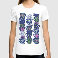 girly T-shirts featuring girly teacups by MollyBroadley