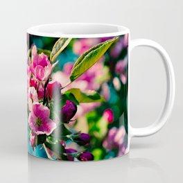 Pink Crab Apple Flowers Coffee Mug