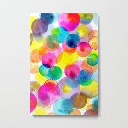 Confetti paint TWO Metal Print