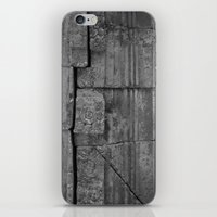 stone iPhone & iPod Skins featuring Stone by Claire Elizabeth Stringer