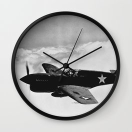 P-40 Warhawk Wall Clock