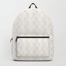 Gold pattern Backpack
