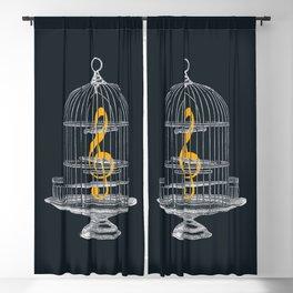 Set Me Free Blackout Curtain