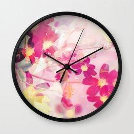 Blossom V Wall Clock
