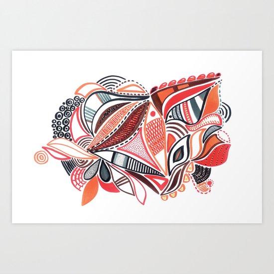 Coloridos 1 Art Print