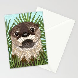 Otterly Cute Stationery Cards