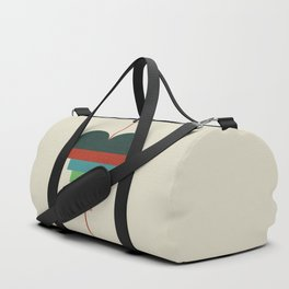 heart geometry Duffle Bag