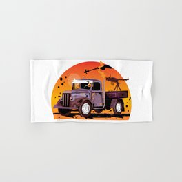 K1 Technical - Destroy Hand & Bath Towel
