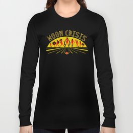 Moon Crisis Long Sleeve T-shirt
