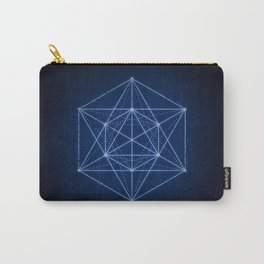 Sacred geometry / Minimal Hipster Symbol Art Carry-All Pouch