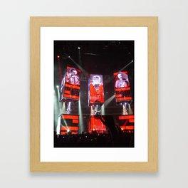 Muse at Prudential Centrer, Newark, New Jersey Framed Art Print