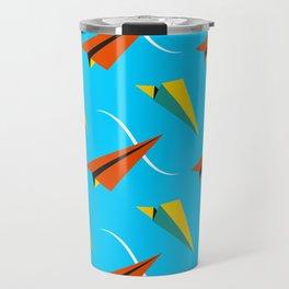 Papper Plane Travel Mug