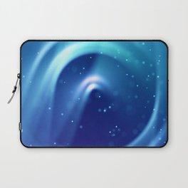 Center of Blue Galaxy Laptop Sleeve