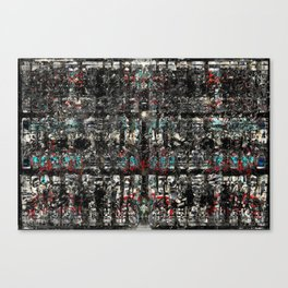 Graf-Grid 1 Canvas Print