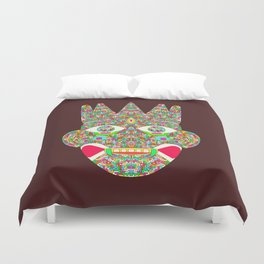 The Psychedelic Daemon Duvet Cover