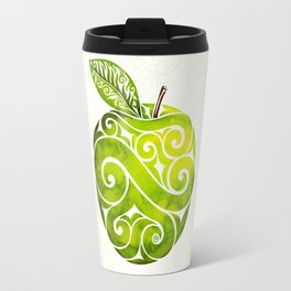 Swirly Apple Travel Mug