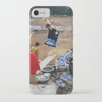 korean iPhone & iPod Cases featuring Korean Seesaw by Robert S. Lee Art