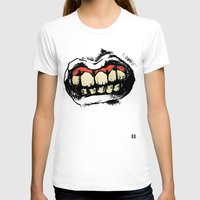 teeth T-shirts featuring TEETH! by Helena Bowie Banshees
