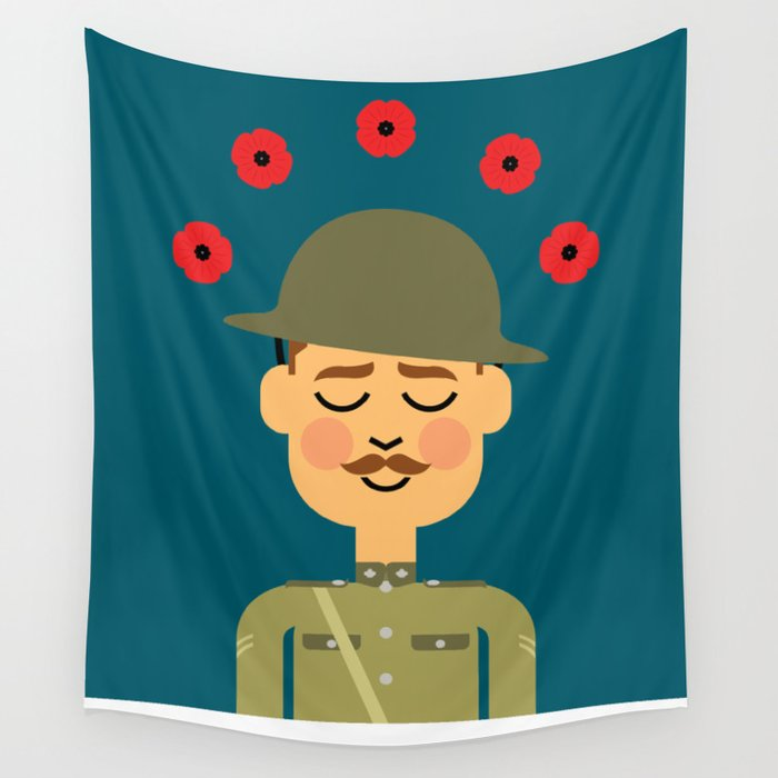 Remembrance Day Wall Tapestry