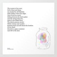 Dust  Jar Art Print