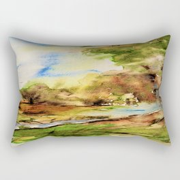 edge of the forest Rectangular Pillow