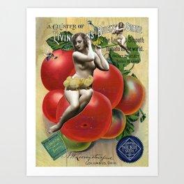 La Pulpeuse Art Print