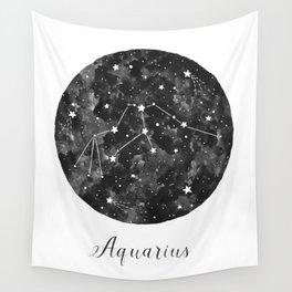 Aquarius Constellation Wall Tapestry