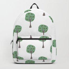 Tree Pattern Backpack