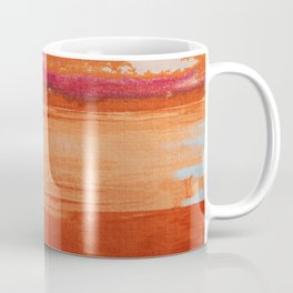 V41 Traditional Boho Marrakech Carpet Design. Coffee Mug