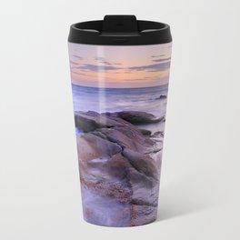 Purple Sunset At Vela Blanca Tower Travel Mug