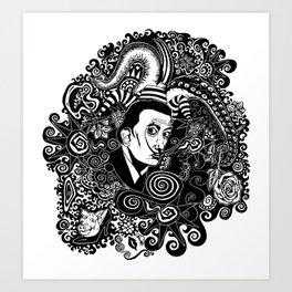Dali Tribute Art Print