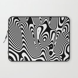 Trippy Background Laptop Sleeve