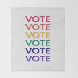 Suffrage Throw Blanket
