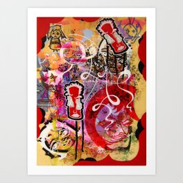 An Expose Of Uncalculated Whimsy Art Print