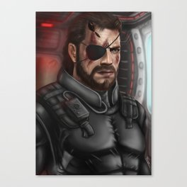 MGS Big Boss Canvas Print
