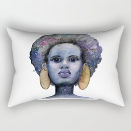 She is Made of Stars Rectangular Pillow