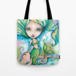 Mermaid Connection Tote Bag