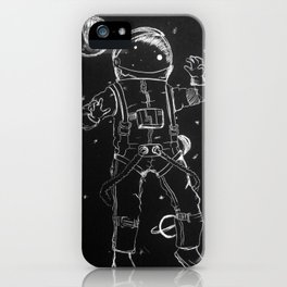 Exploration: Outer Space iPhone Case