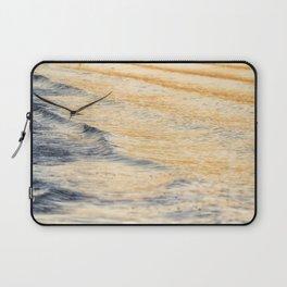 Black Skimmer Skimming Laptop Sleeve