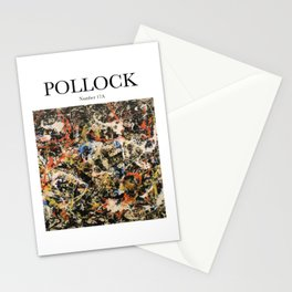 Pollock - Number 17A Stationery Cards