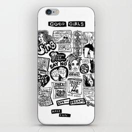 Good Girls Have Fun! iPhone Skin