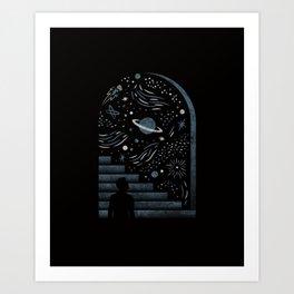 Open Space Art Print