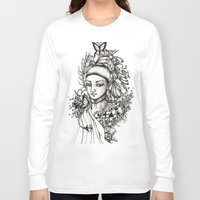 fairy Long Sleeve T-shirts featuring Fairy by Anca Chelaru